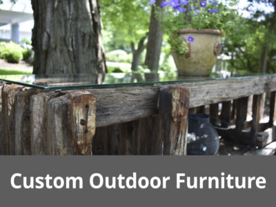 Lakeside Fierplace-Custom Outdoor Furniture